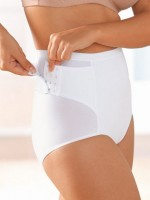 Gaine culotte post-natale 1885 RebeltPanty  Blanc