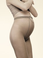 Collant de grossesse r�glable DUO 20 Beige dor�